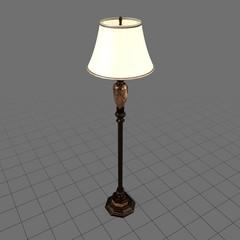 Lit floor lamp