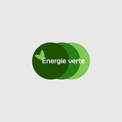 Logo énergie verte