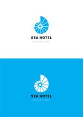 Sun time logo template.
