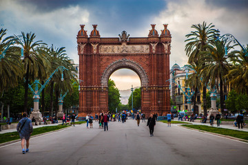Foto op Aluminium Barcelona Barcelona