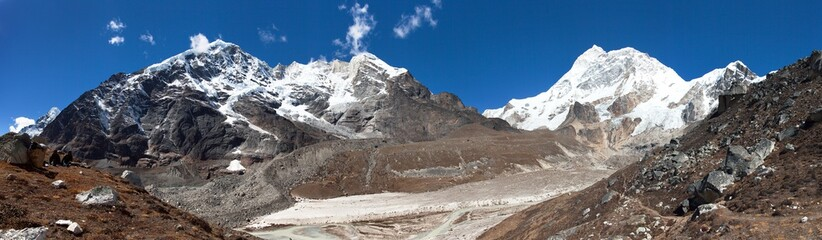 Mount Makalu, Barun valley, Nepal Himalayas