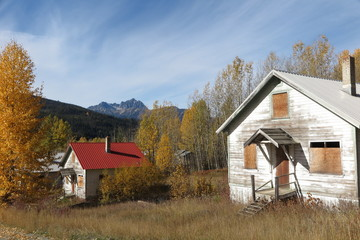 Ghost Town Canadian Rockies