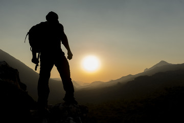 pursuit of adventure and exploration in the magnificent mountains