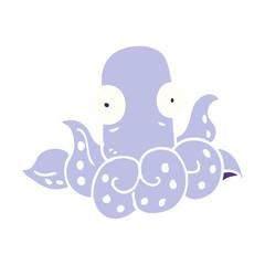 cartoon doodle funny octopus
