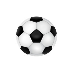 Football vector icon, soccer ball, vector illustration.