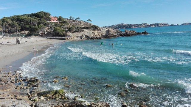 Bucht Platjade la Romana in Paguera