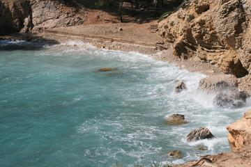Einsame Bucht, Cala Fornells