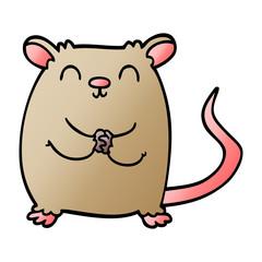 cartoon doodle mouse