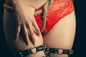 panties and rope