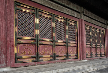 Forbidden city architecture and ornaments, Beijing, China