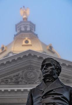 Daniel Webster's Gaze