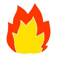cartoon doodle fire explosion