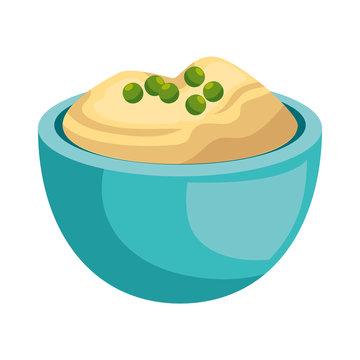 delicious apple puree icon