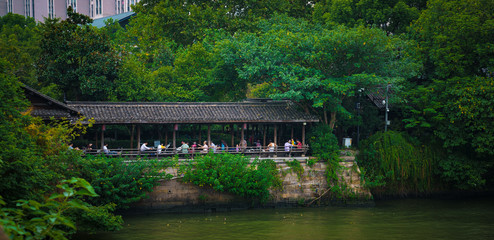 Scenery of the Hangzhou section of the Grand Canal