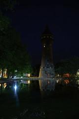Wasserturm Heide Hochformat