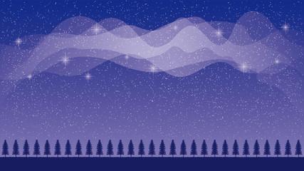 星空と天の川