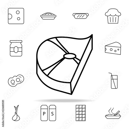 Piece Of Meat Icon Food Icons Universal Set For Web And Mobile