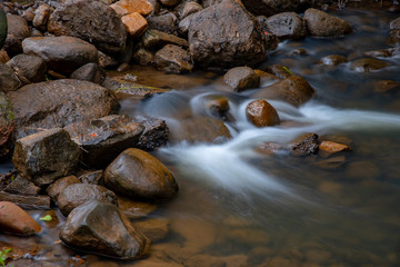Along the river - Rocks and Water