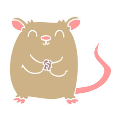 cartoon doodle mouse