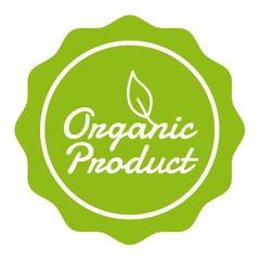 Wall Mural - Vegan Button - Organic Product Badge.