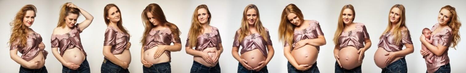 schwangere Frau