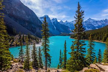 Lake in the Valley of Ten Peaks
