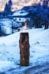 Swedisch Candle in Austria