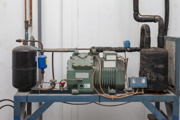 old cooling system