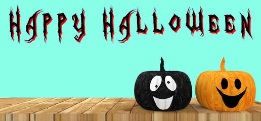 Halloween holiday concept. 3d illustration