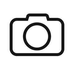 Photo camera icon, Photo camera in flat style, Photo camera vector illustration