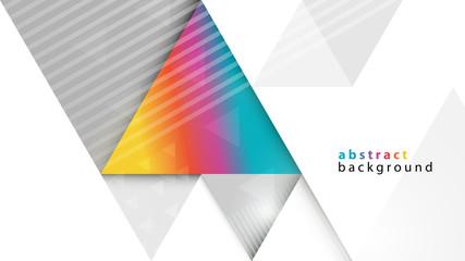 trójkąty abstrakcyjne tło wektor