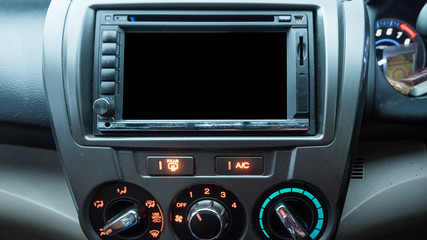 Console in the car