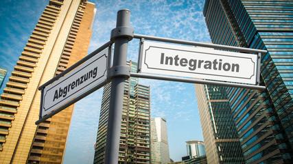 Schild 367 - Integration
