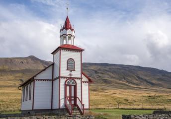 Church East of Sauðárkrókur, Iceland