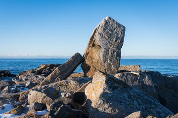 Coasts stones