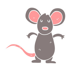 cartoon doodle mouse rat