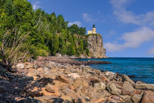 Split Rock Lighthouse, North Shore, Lake Superior, Minnesota, Lighthouse