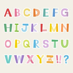 アルファベット / vector eps 10