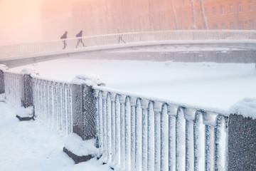 Kolomna bridge over Griboyedov Canal