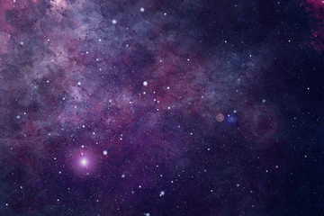 Watercolor abstract background with space