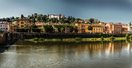 Banks of the Arno, Florence