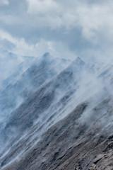 Vulcano Smoke of Mount Bromo, Indonesia, Asia