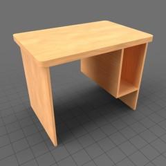 Wooden computer desk 1