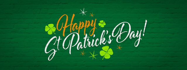 Happy Saint Patrick's day Wall mural