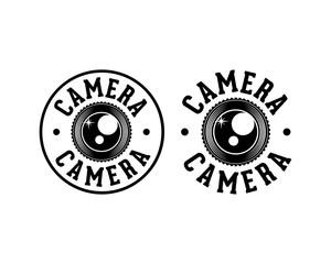 Lens Camera Photography Sign Symbol Company Logo Vector