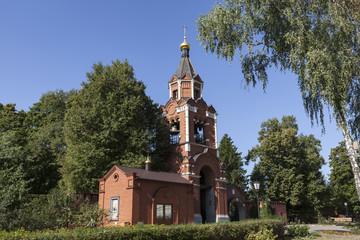 Часовня Кресто-воздвиженского монастыря в Лукино