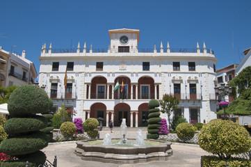 Rathaus, Priego de Córdoba, Andalusien, Spanien