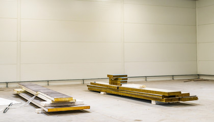 Construction of a production room