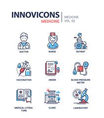 Medicine - icons set
