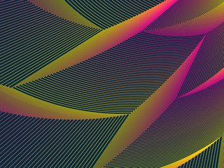 Colorful geometric pattern with lines. Abstract vector background.